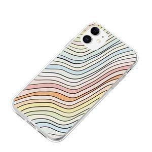 SHEIN Colorful Stripe Pattern iPhone 11 case